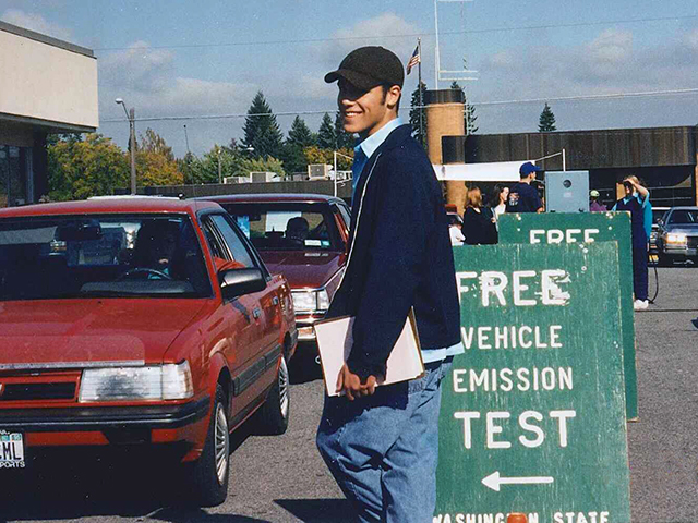 Ecology teamed up with the local clean air agency to help car owners check under the hood prior to vehicle emission checks. The vehicle emissions check program was phased out, ending in 2019, because the program and advances in technology helped Washington reduce transportation-related pollution.