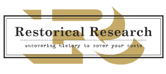 Restorical Research: Uncovering History to cover your costs
