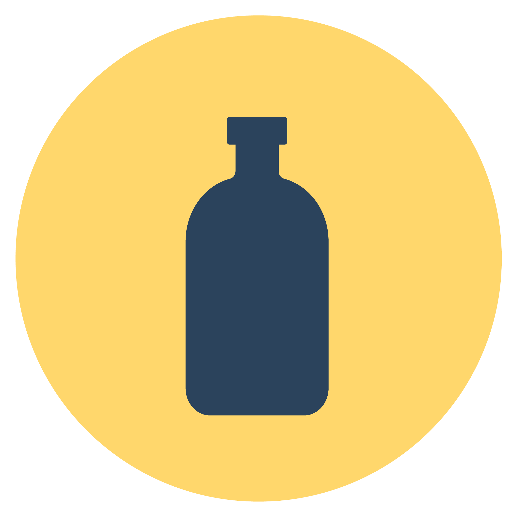 Small waste container icon