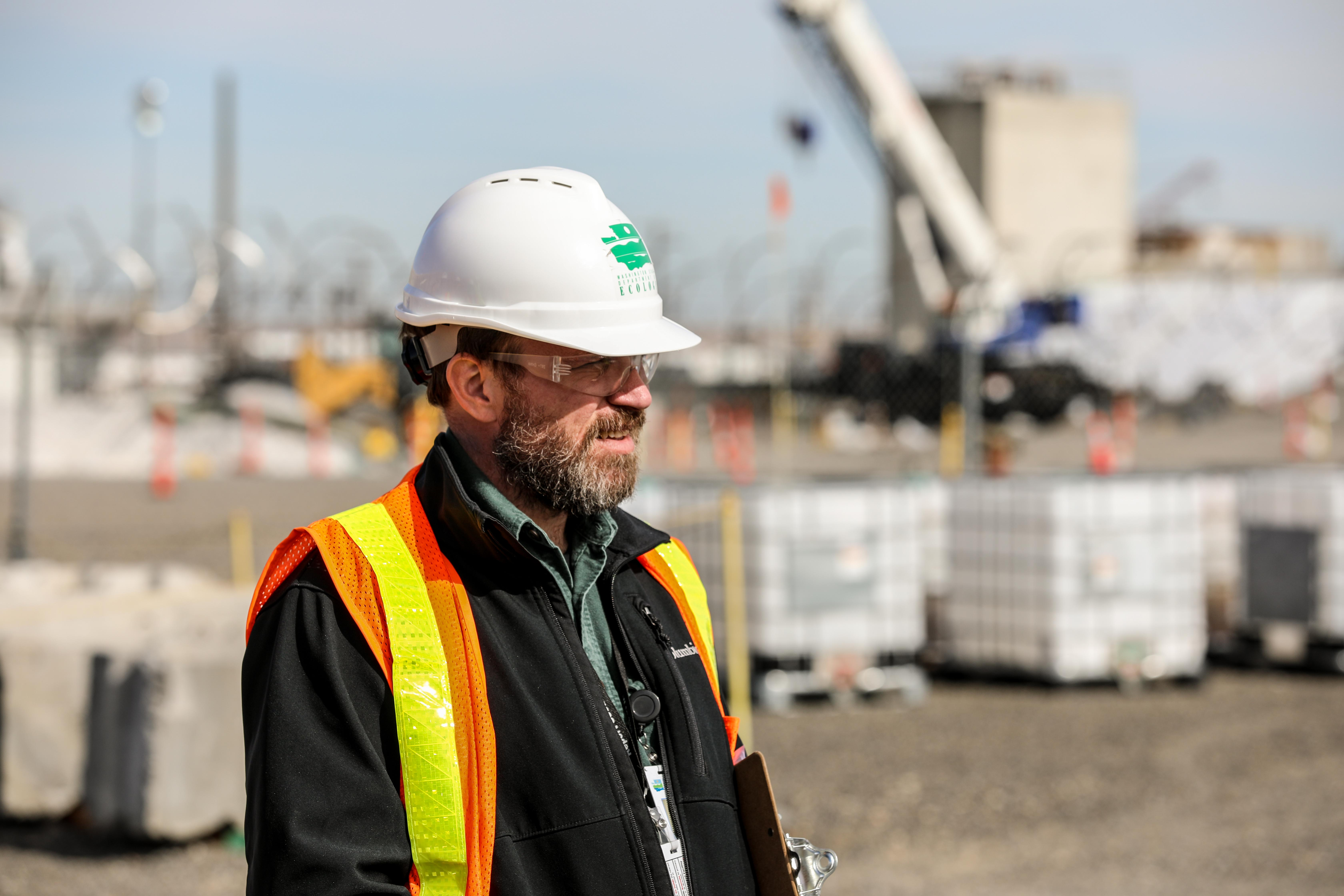When Nuclear Waste Program inspectors are on site at Hanford,  they need access to critical information in real time in order to  provide effective, efficient regulatory guidance.