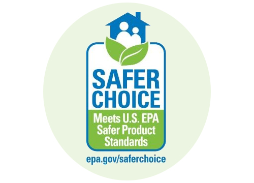 Safer choice logo - meets U.S. EPA safer product standards