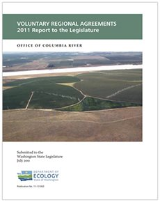 Cover illustration for Voluntary regional agreements report
